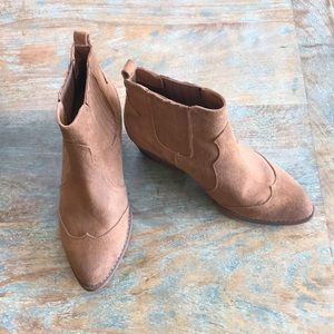 Women's Mossimo western style brown bootie
